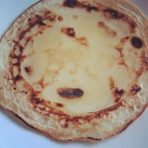 pancake veg con il miele