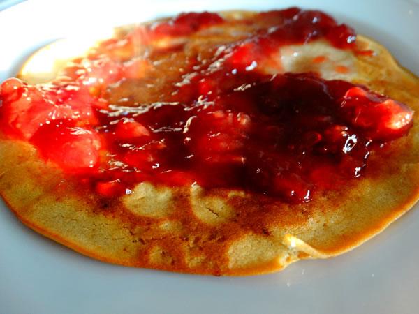 ricetta pancake veg