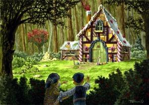 la casetta di Hansel e Gretel