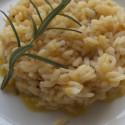 ricetta risotto arancia e rosmarino