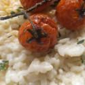 ricetta risotto al timo con pomodorini caramellati