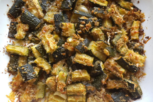 ricetta zucchine al forno dell'innamorato