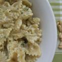 ricetta pasta al pesto di tofu