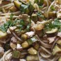 ricetta spaghetti con zucchine e tofu