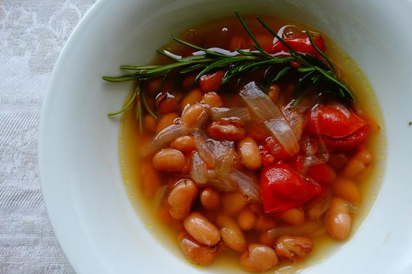 ricetta minestra di fagioli