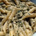 ricetta pasta al pesto di pistacchi e menta