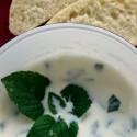 Zuppa fredda di cetrioli turca