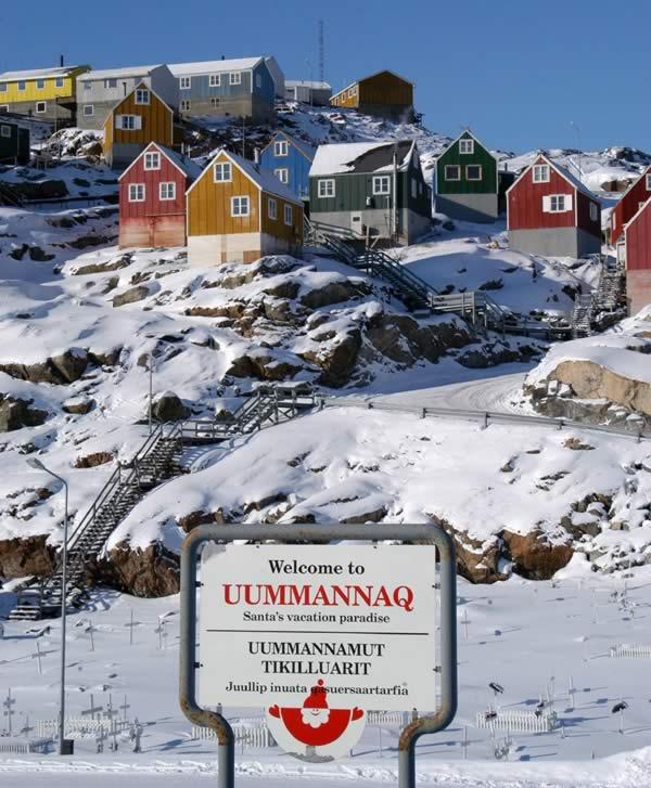Uummannaq è la città dove vive Babbo Natale