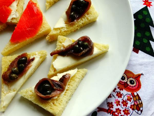 ricetta antipasti feste salmone burro alici
