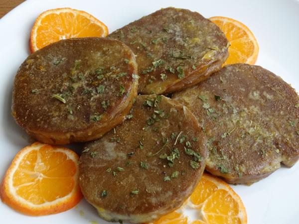 scaloppine alle clementine