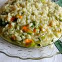 ricetta risotto con fiori di zucca e zucchina