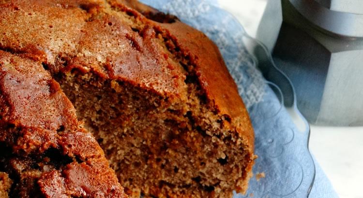 ricetta torta caffè e noci