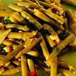 ricetta insalata estiva fagiolini con le noci