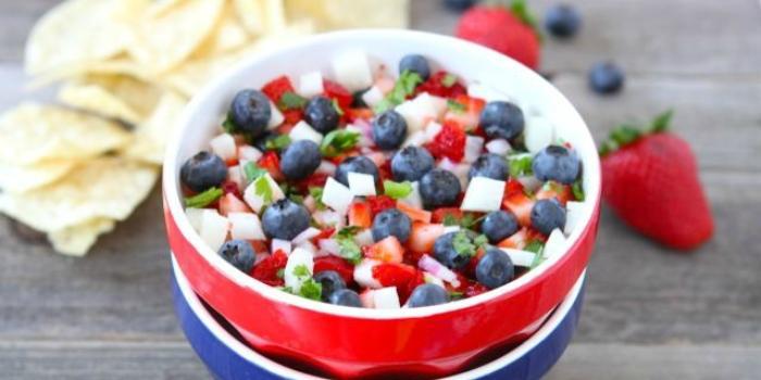 ricette 4 luglio macedonia di frutta - chicvegan.com