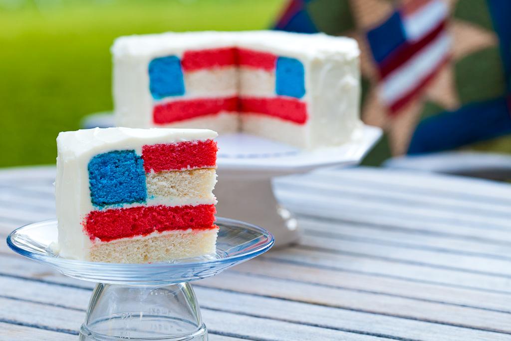 ricette 4 luglio torta glassata