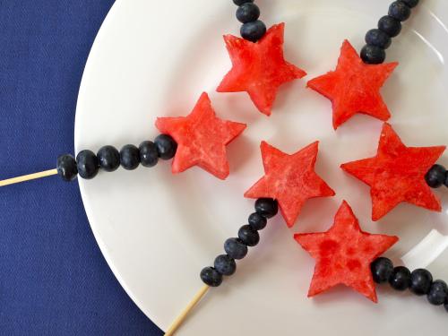 ricetta 4 luglio spiedini di frutta