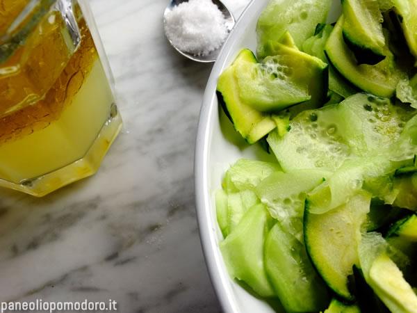 emulsione di olio sale e succo di limone