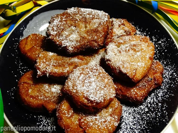 frittelle di semolino con cannella