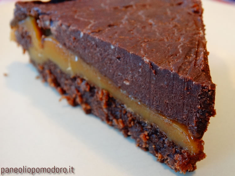 torta di cioccolato al mou salato