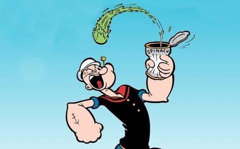 popeye spinaci