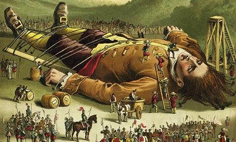Viaggi di Gulliver, illustrazione da edizione del 1860