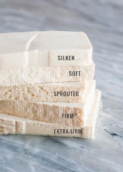 tipi di tofu