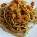 ricetta spaghetti con zucca