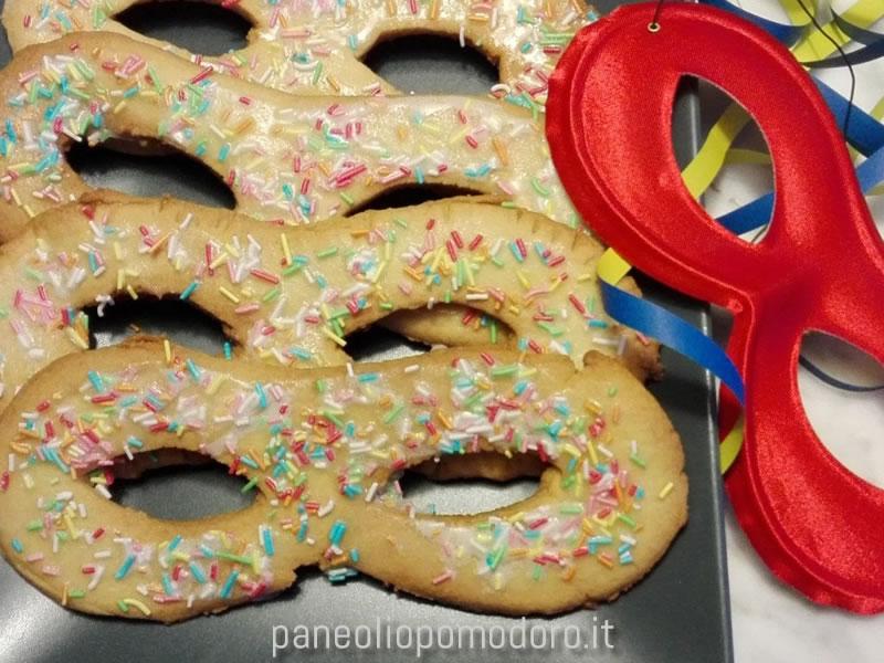 mascherine dolci di carnevale