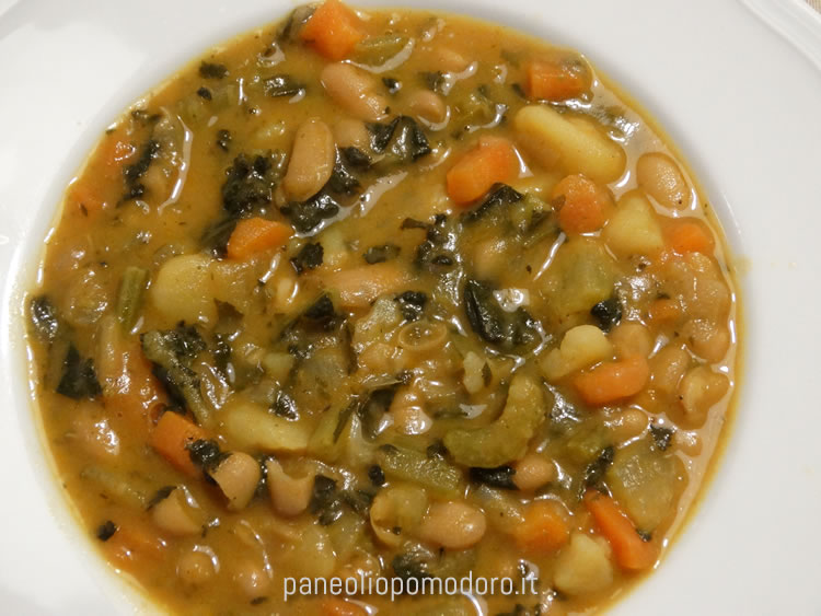 ricetta zuppa ribollita