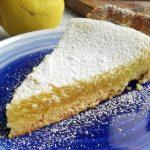 Torta al lemon curd