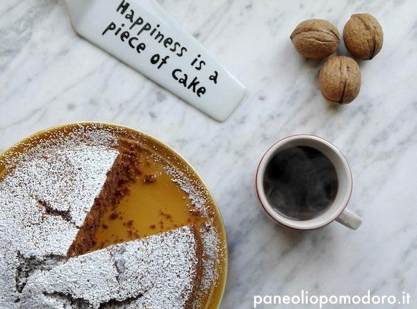 torta noci e caffe