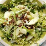 insalata mela verde sedano noci