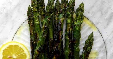 asparagi grigliati al limone