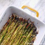 Asparagi verdi gratinati alla paprica