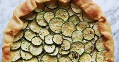 torta salata di zucchine