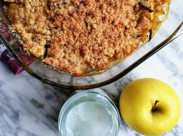 crumble di mele senza burro
