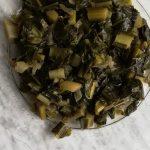 Foglie di broccolo di Bassano in padella