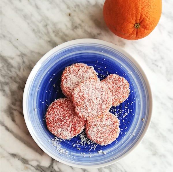 dolcetti arancia senza uova