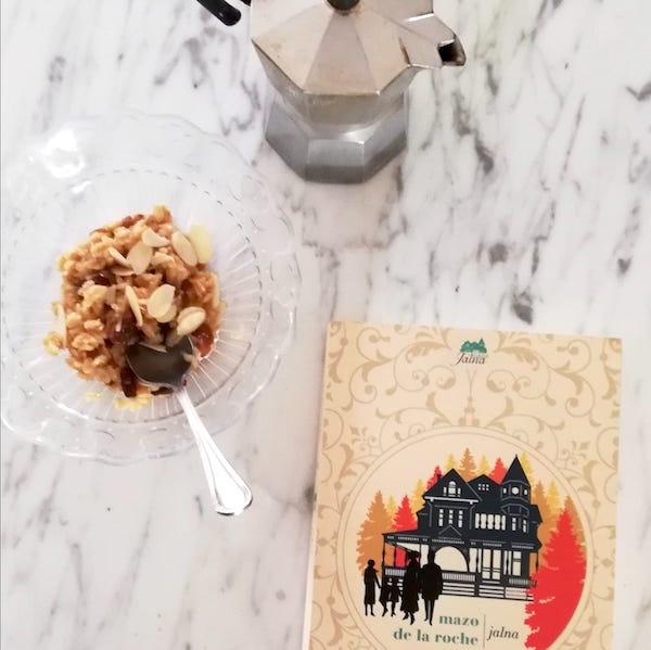porridge a colazione leggendo Jalna