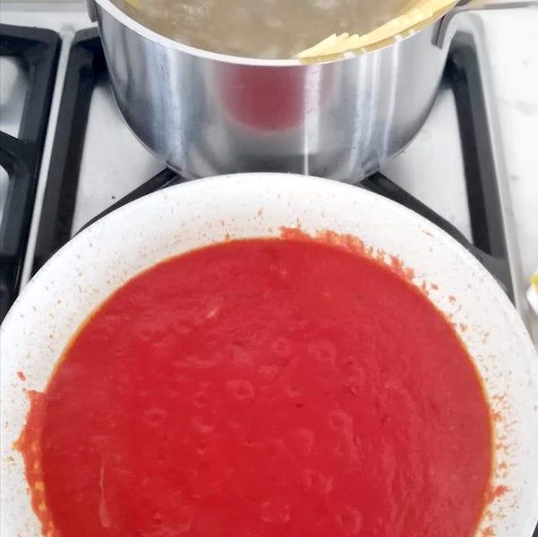salsa al pomodoro per la pasta