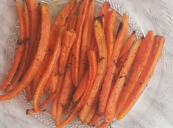 carote arrosto alle erbe