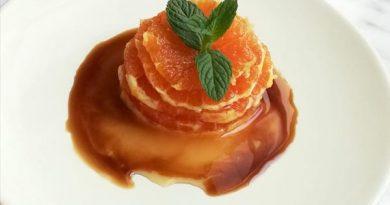 insalata dolce di arance e aceto balsamico