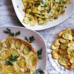 Ricette facili con le zucchine gialle