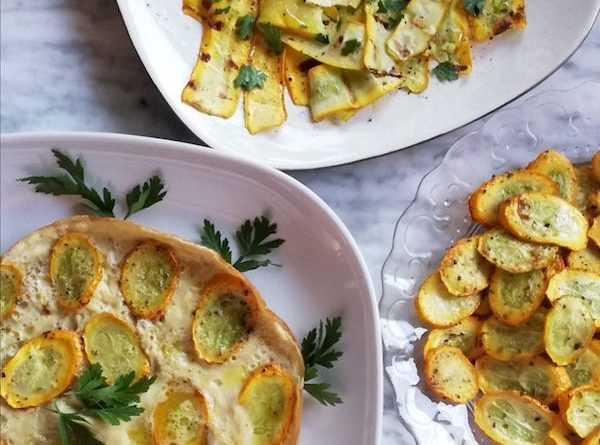 ricette con zucchine gialle